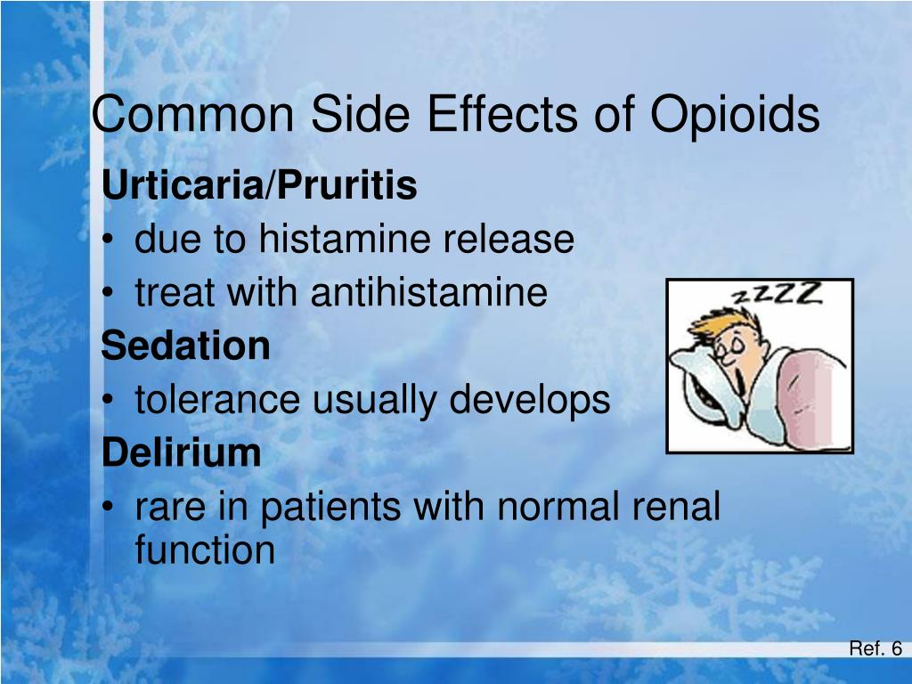 Common Side Effects of Opioids