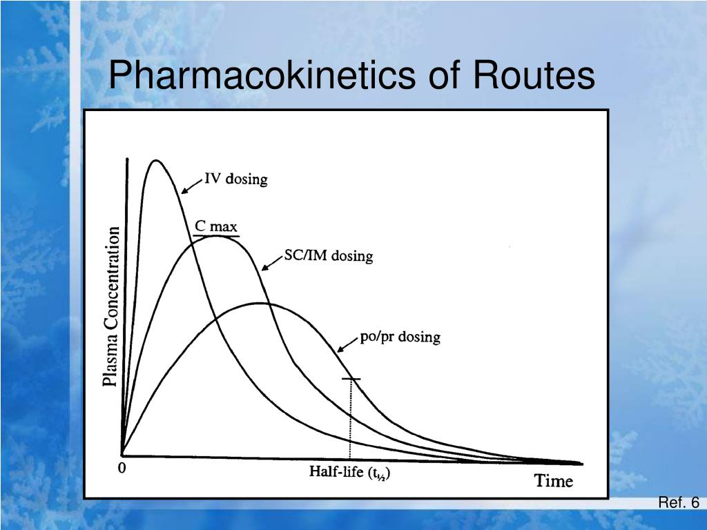 Pharmacokinetics of Routes