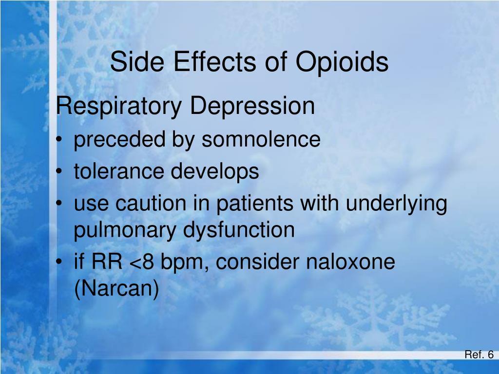Side Effects of Opioids