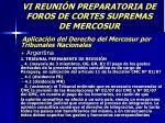 vi reuni n preparatoria de foros de cortes supremas de mercosur46