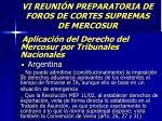 vi reuni n preparatoria de foros de cortes supremas de mercosur52