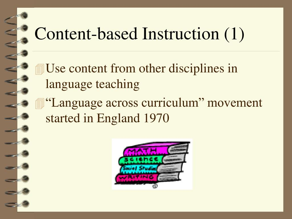 Content-based Instruction (1)