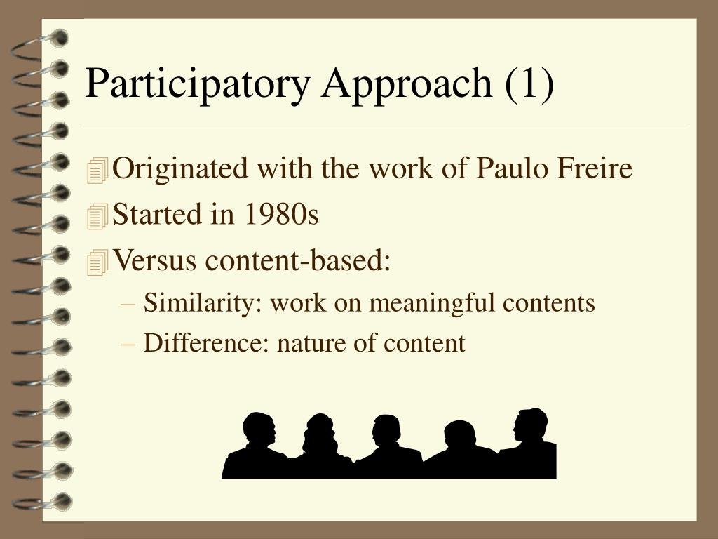 Participatory Approach (1)