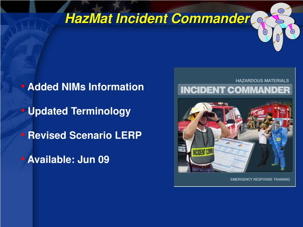 HazMat Incident Commander