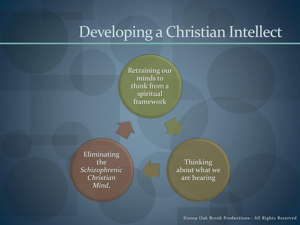 Developing a Christian Intellect