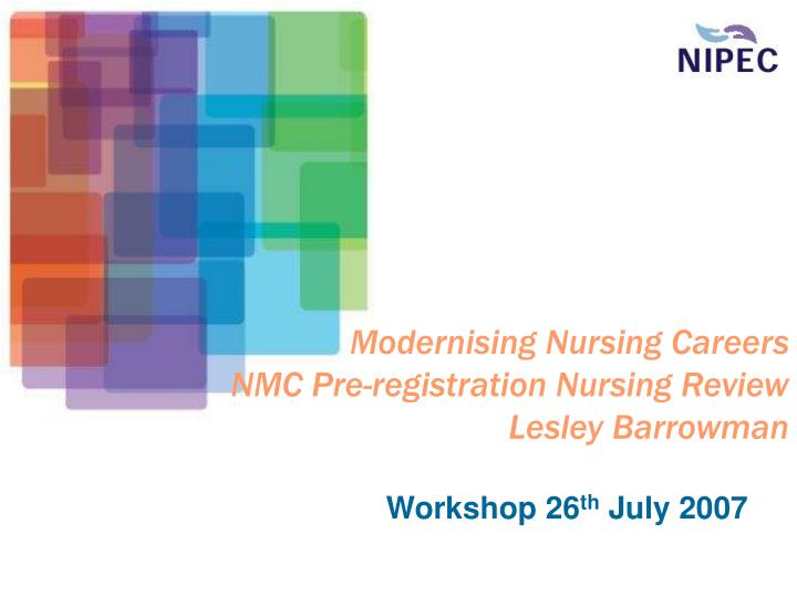 nmc proficiency Heis are responding to the nursing & midwifery council (nmc) consultation on standards of proficiency for registered nurses.