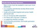 modernising nursing careers11