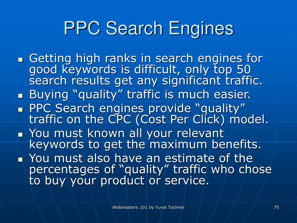 PPC Search Engines
