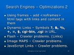 search engines optimizations 2