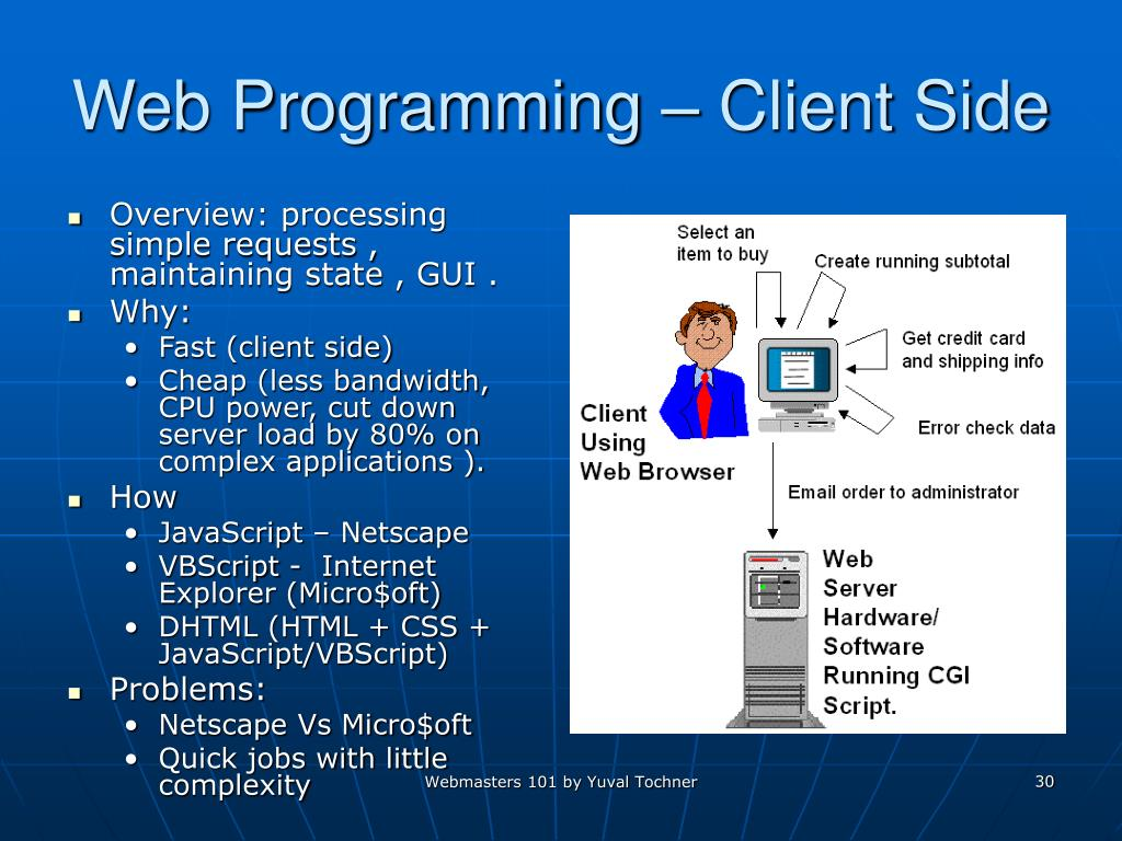 Web Programming – Client Side