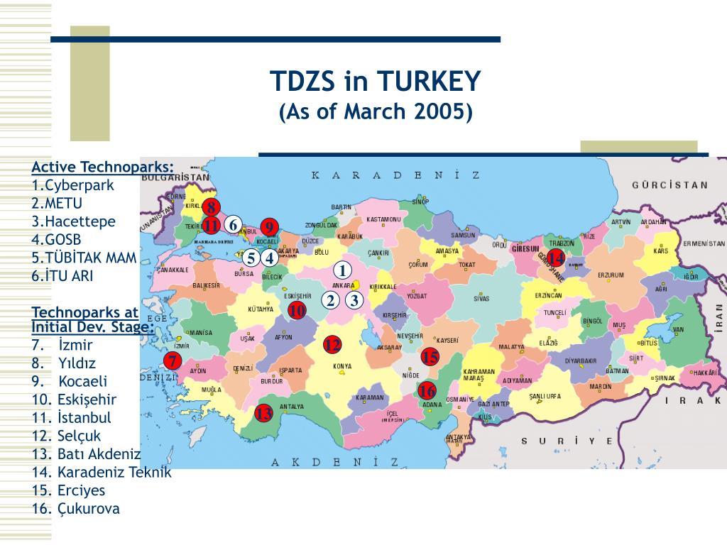 TDZS in TURKEY