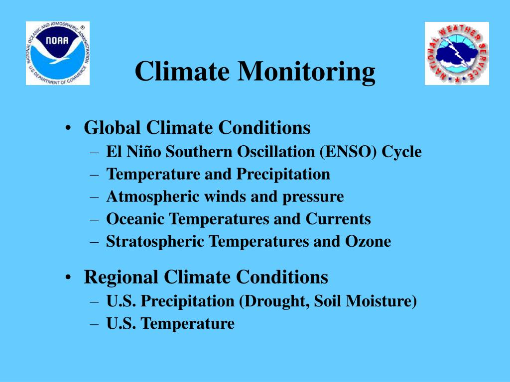 Climate Monitoring