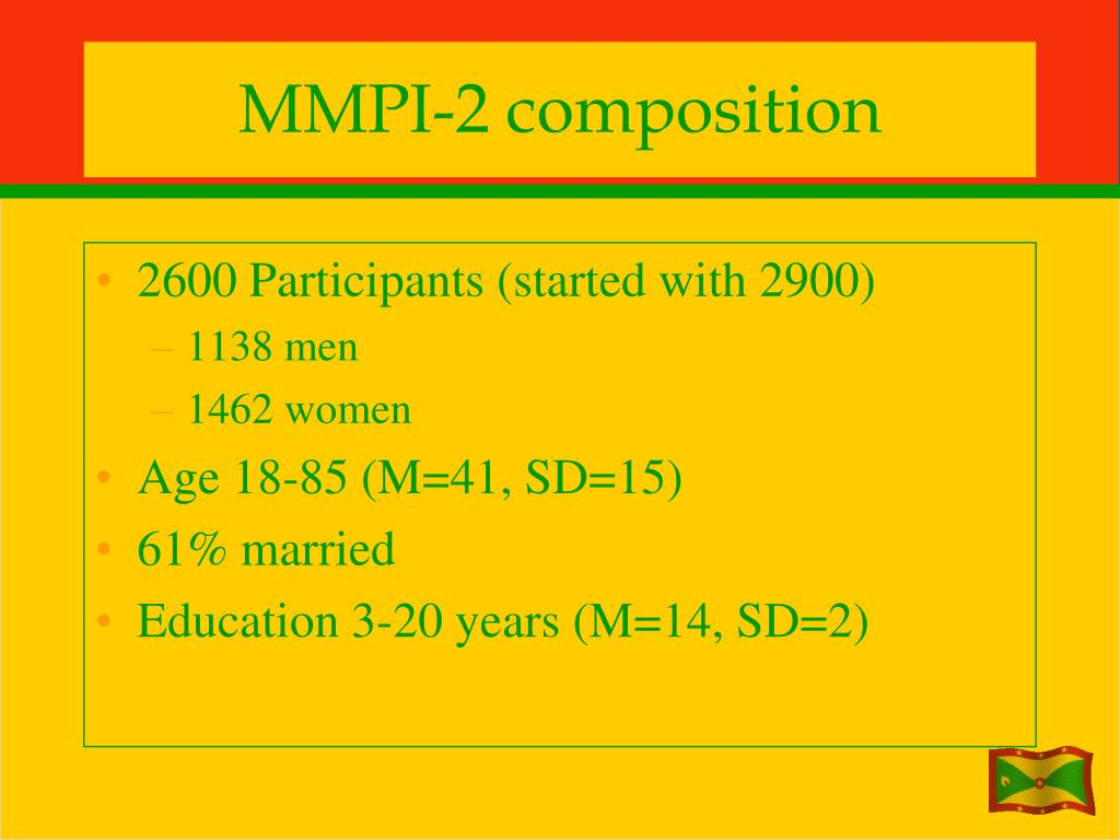MMPI-2 composition