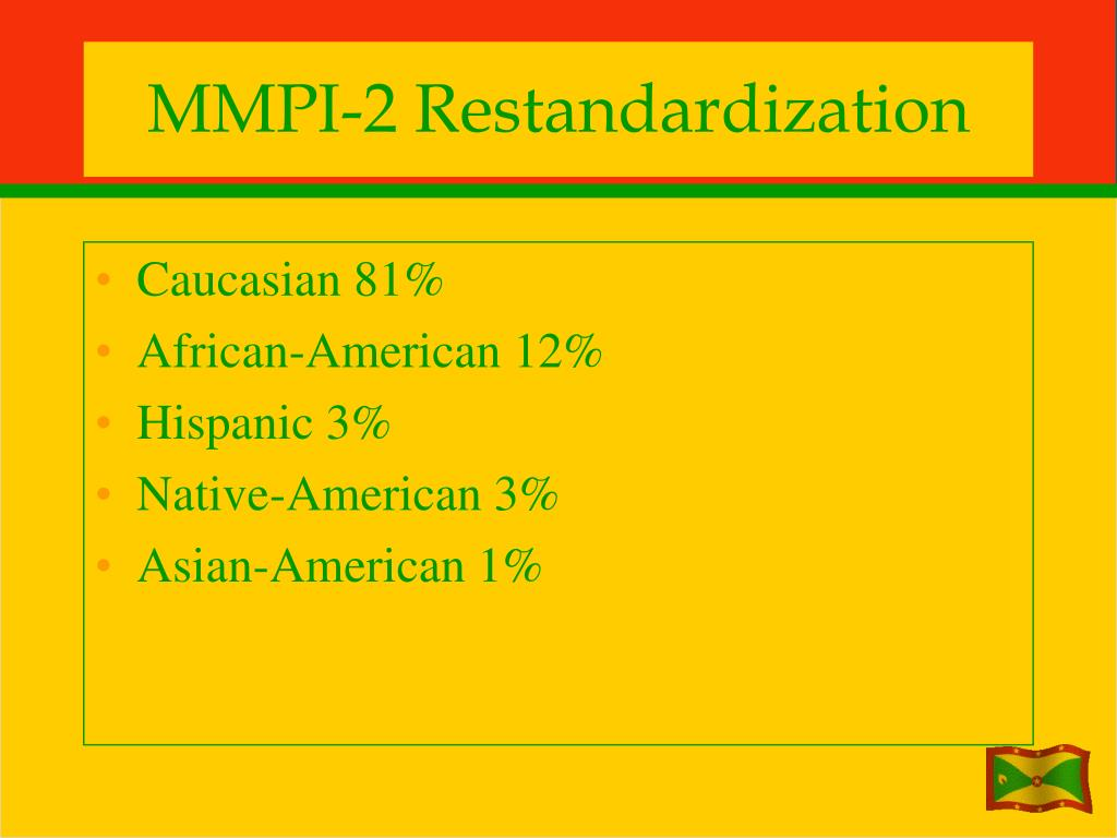 MMPI-2 Restandardization