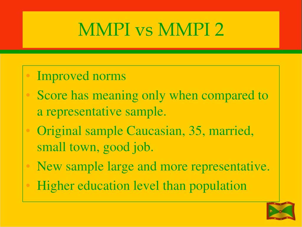 MMPI vs MMPI 2