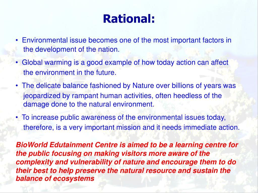 Rational: