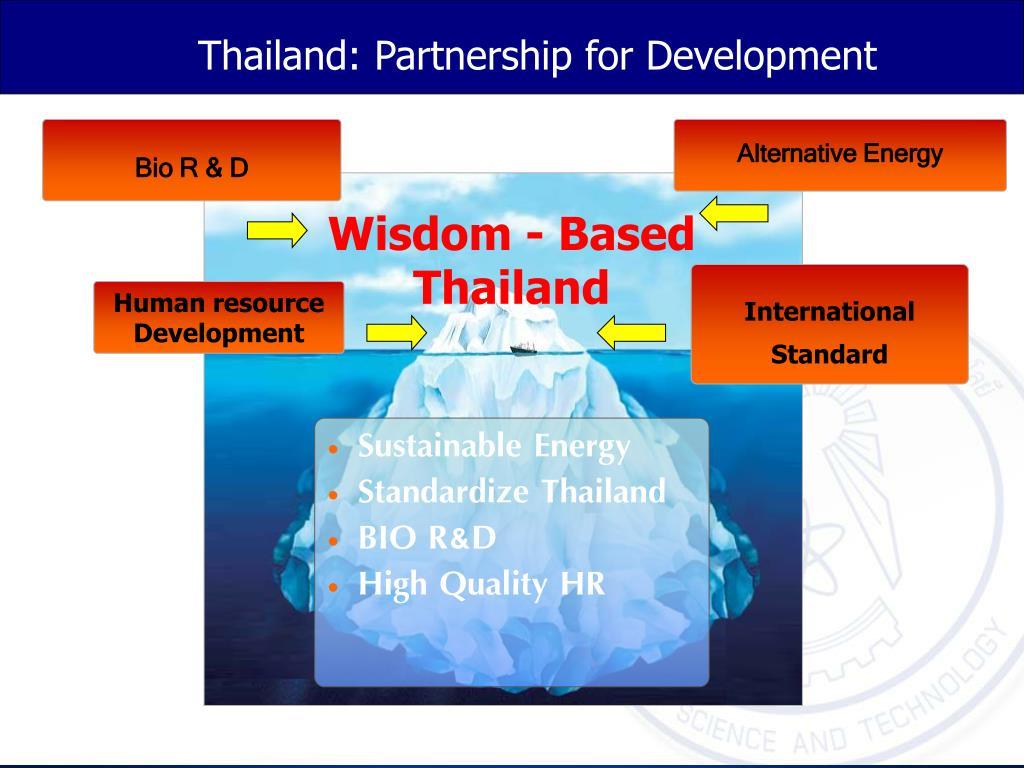 Thailand: Partnership for Development