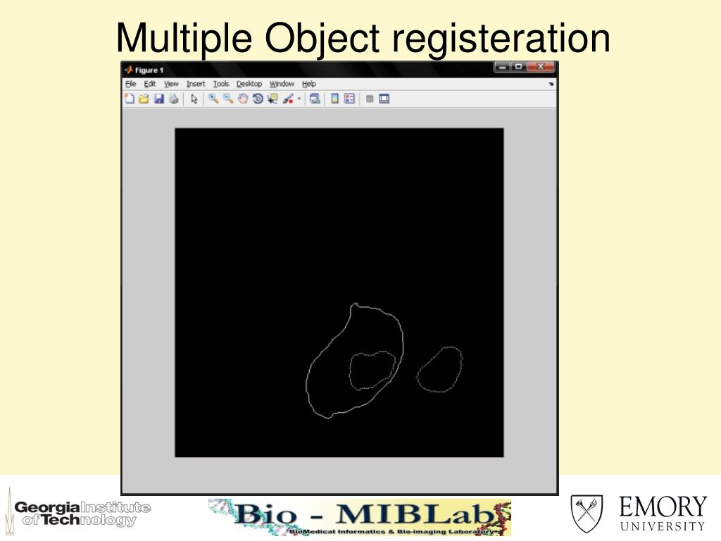 Multiple Object registeration