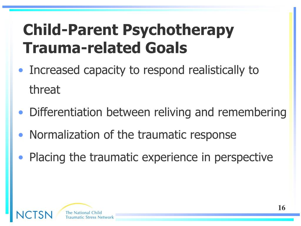 Child-Parent Psychotherapy