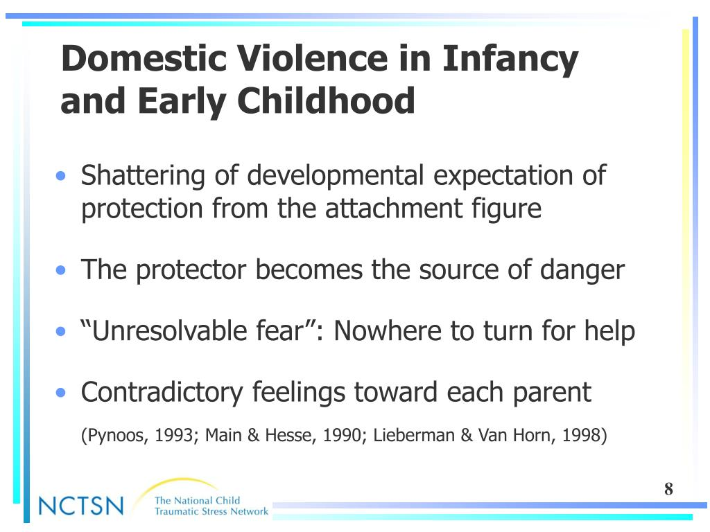 Domestic Violence in Infancy and Early Childhood
