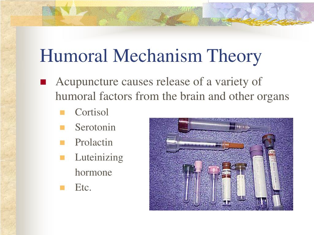 Humoral Mechanism Theory