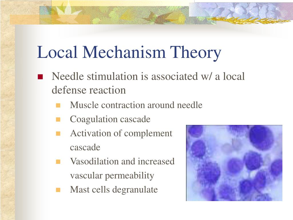 Local Mechanism Theory