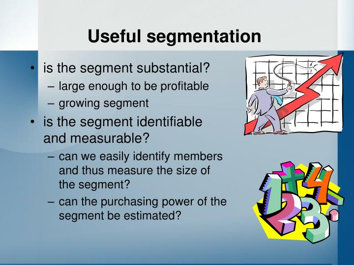 Useful segmentation