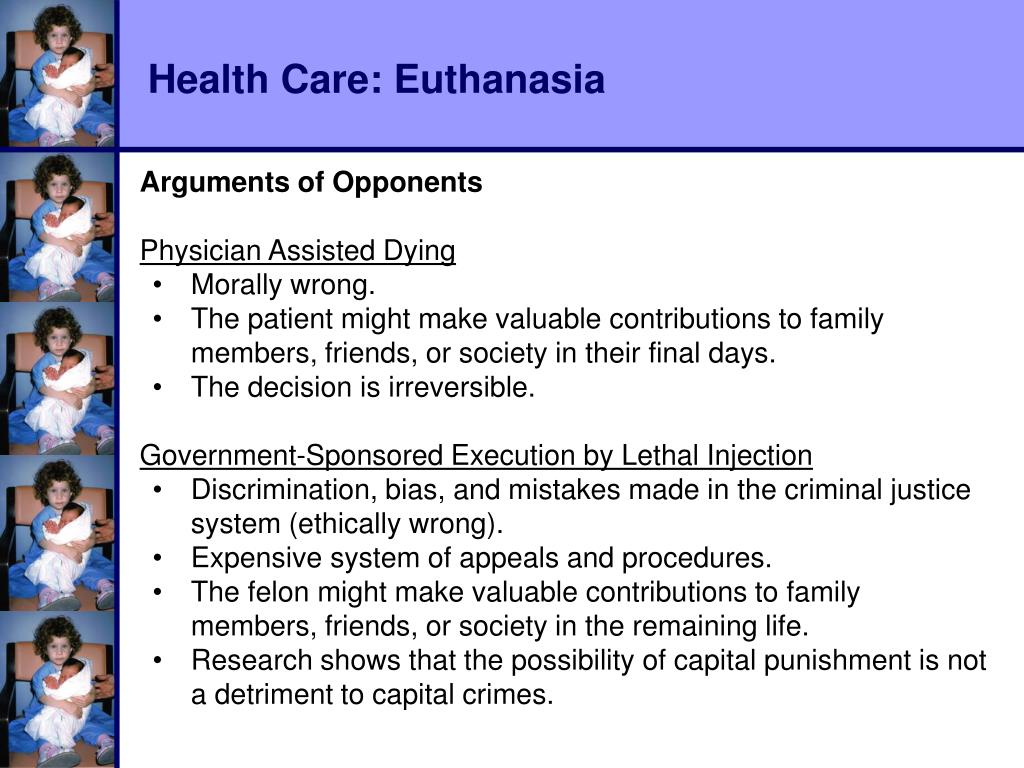 Health Care: Euthanasia