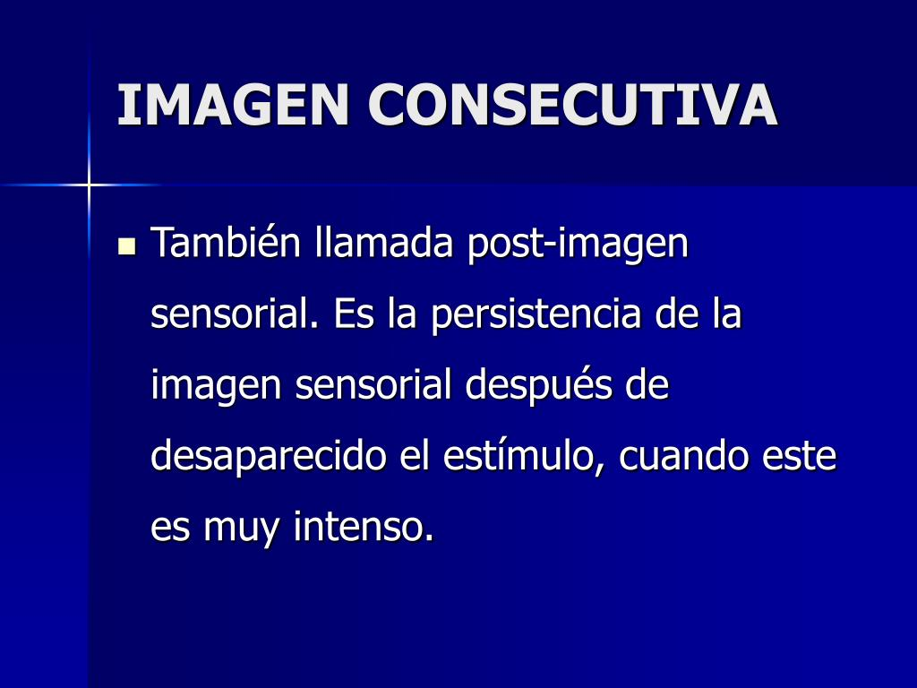 IMAGEN CONSECUTIVA