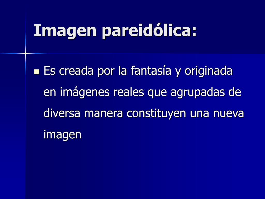 Imagen pareidólica: