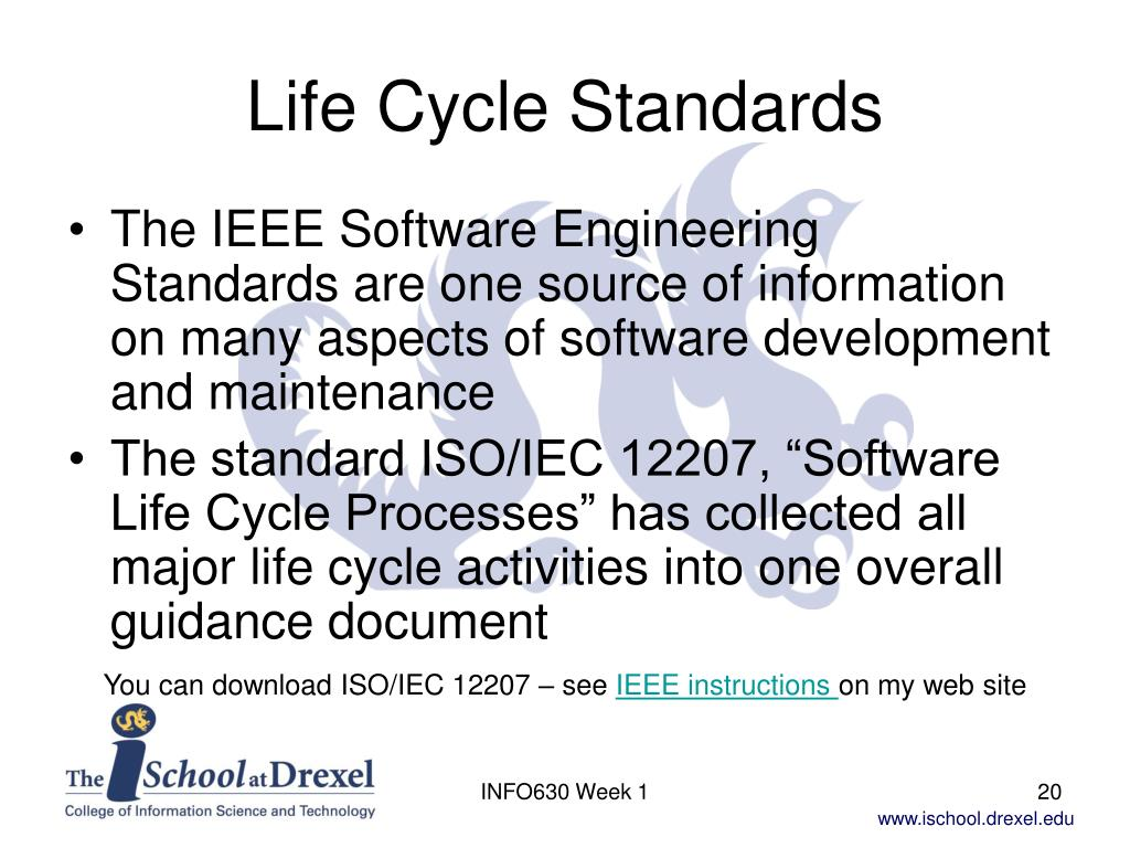 Life Cycle Standards