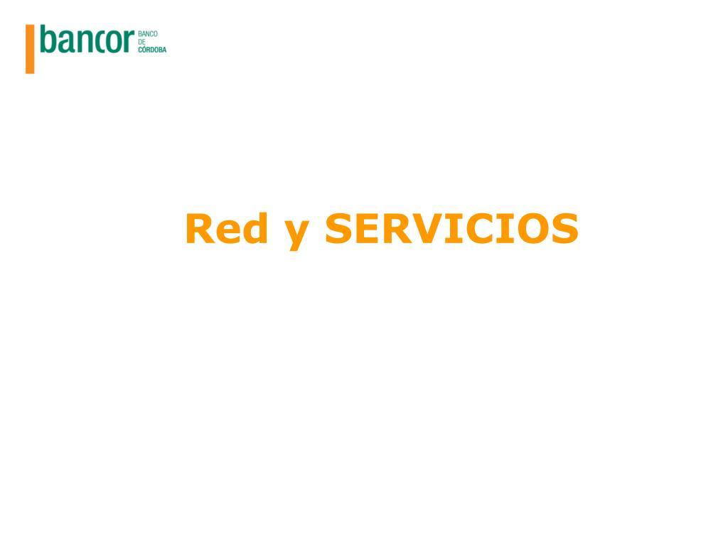Red y SERVICIOS
