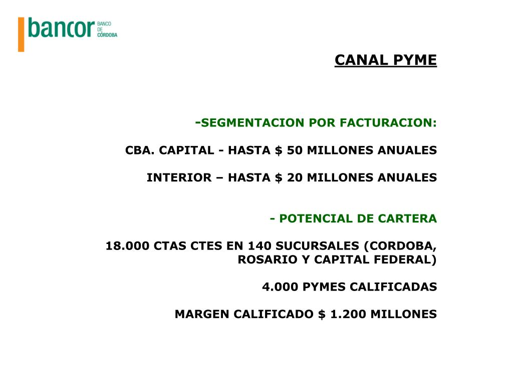 CANAL PYME