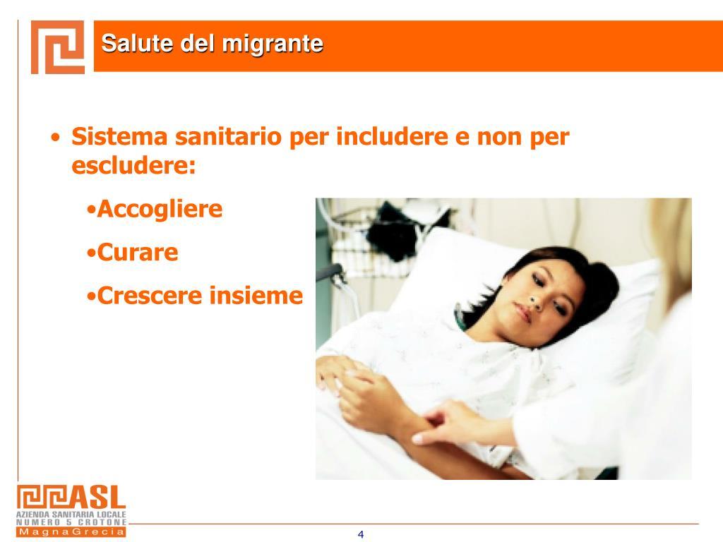 Salute del migrante