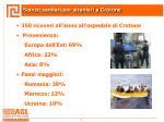 servizi sanitari per stranieri a crotone
