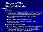 stages of the waterfall model7