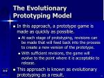 the evolutionary prototyping model13