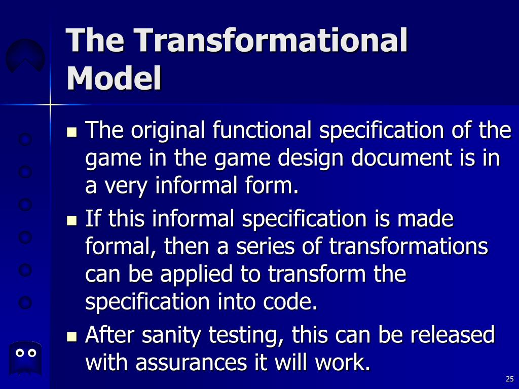 The Transformational Model