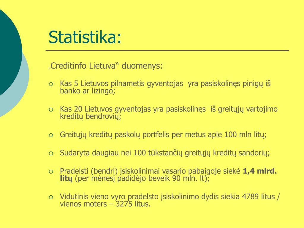 Statistika: