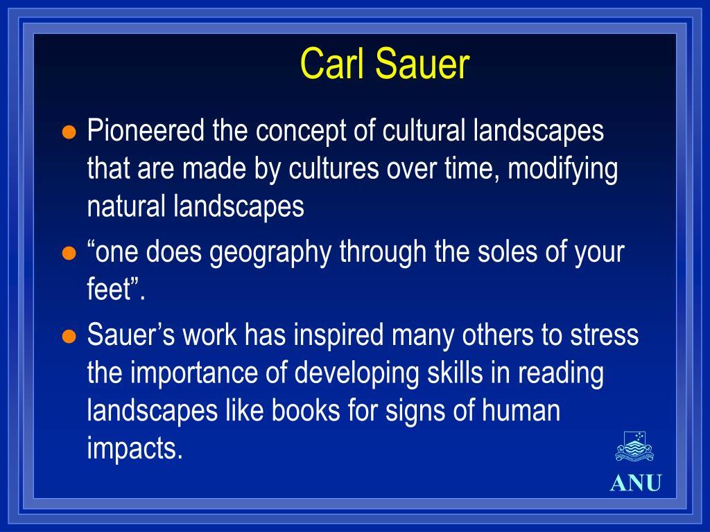 Carl Sauer