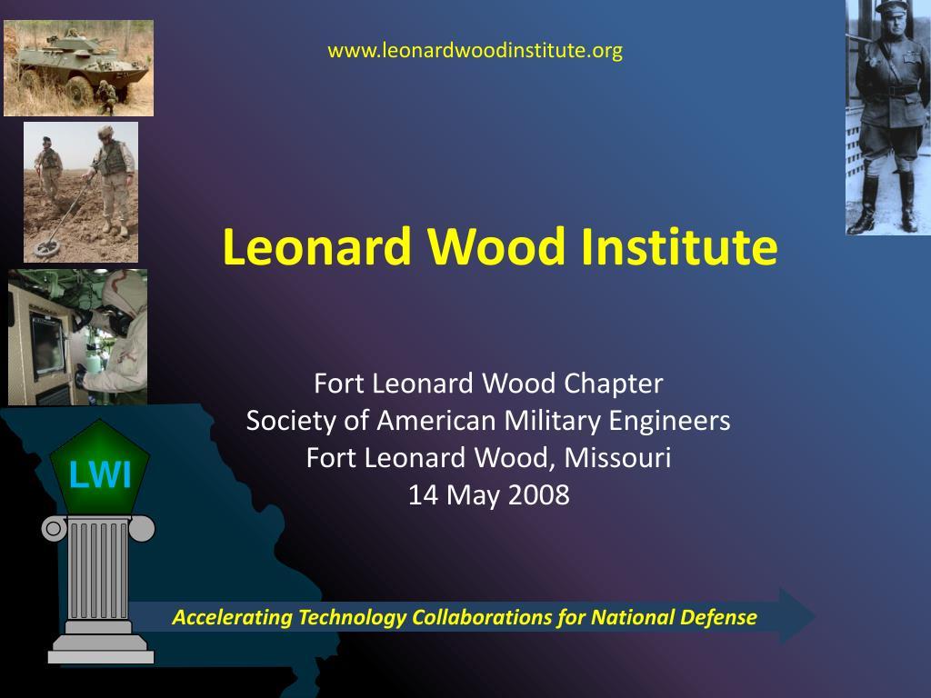 leonard wood institute