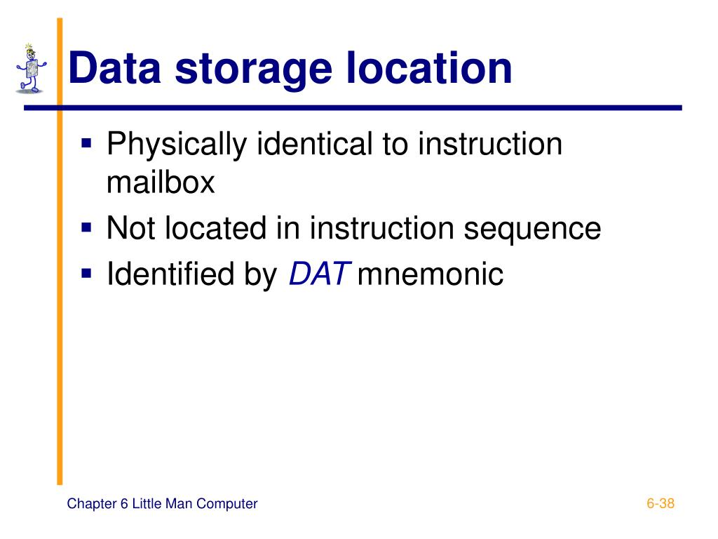 Data storage location