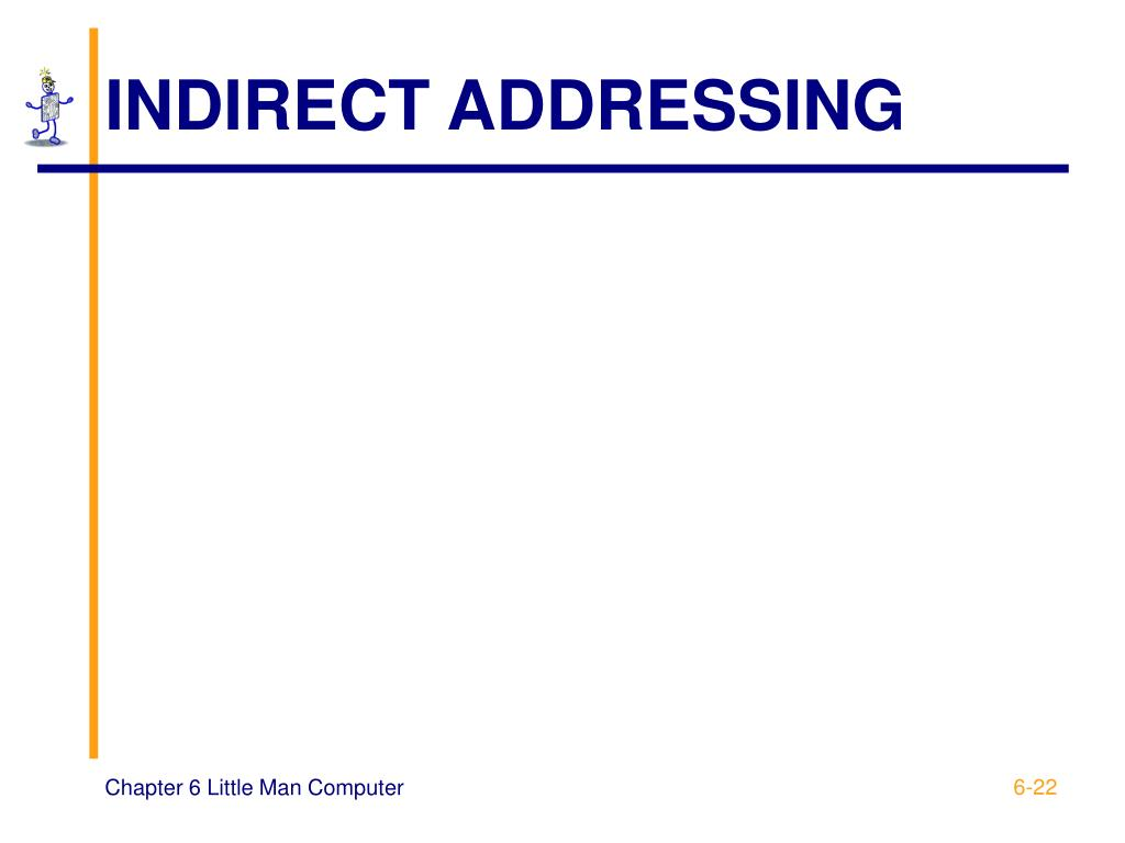INDIRECT ADDRESSING