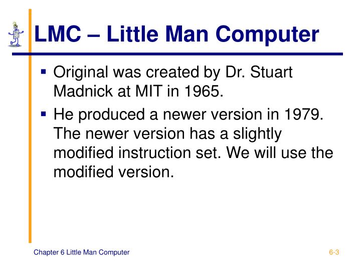 Lmc little man computer