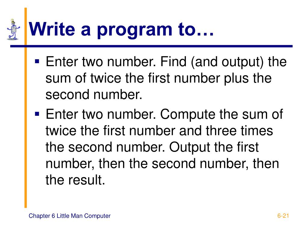 Write a program to…