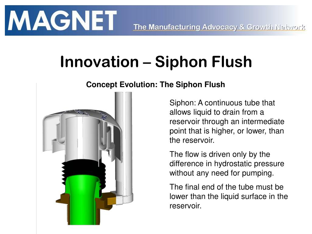 Innovation – Siphon Flush