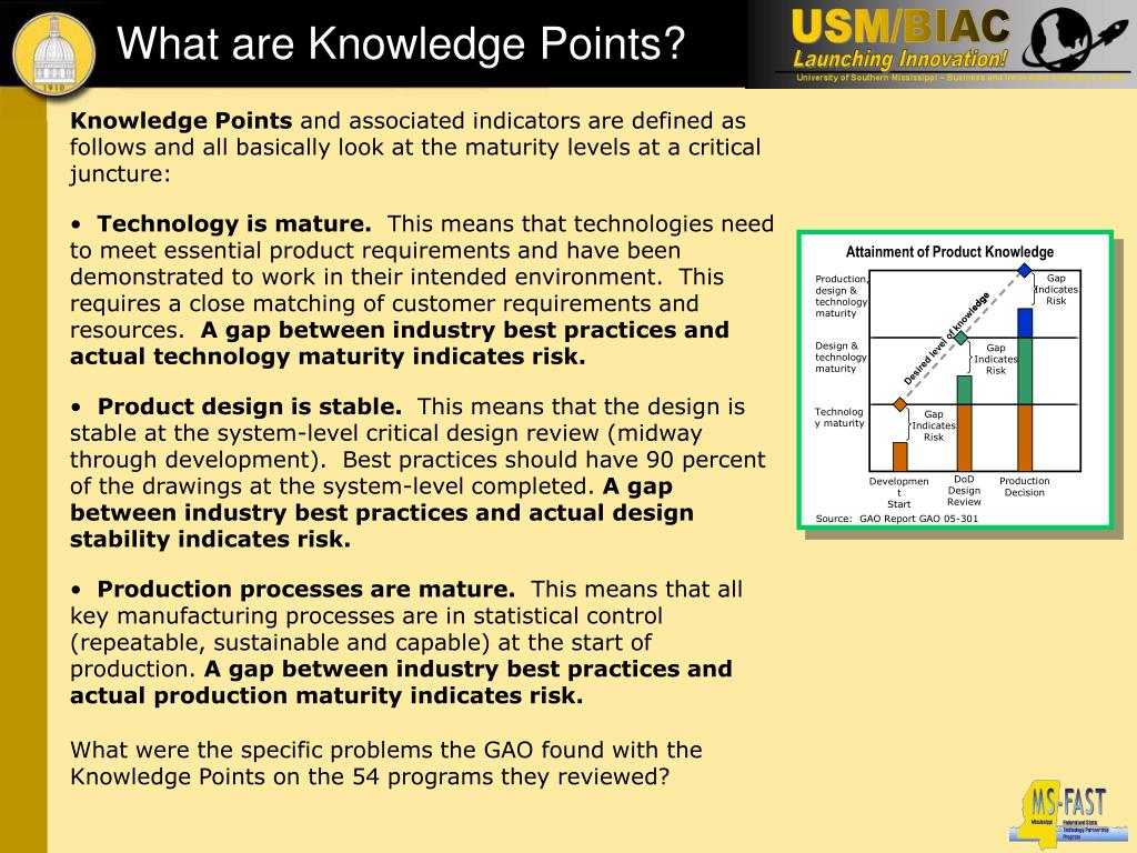 What are Knowledge Points?