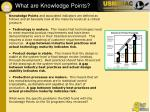 what are knowledge points