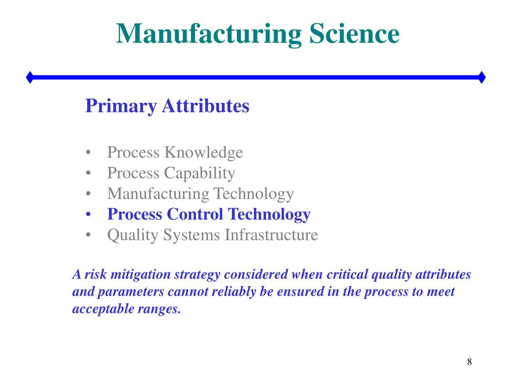 Manufacturing Science