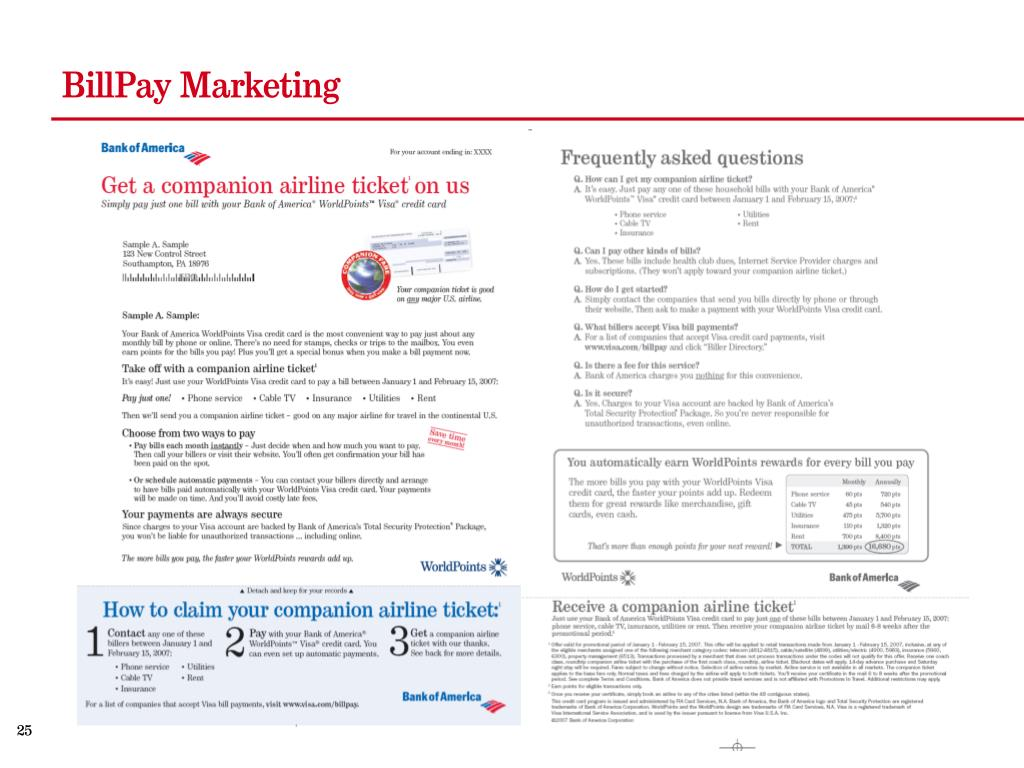 BillPay Marketing